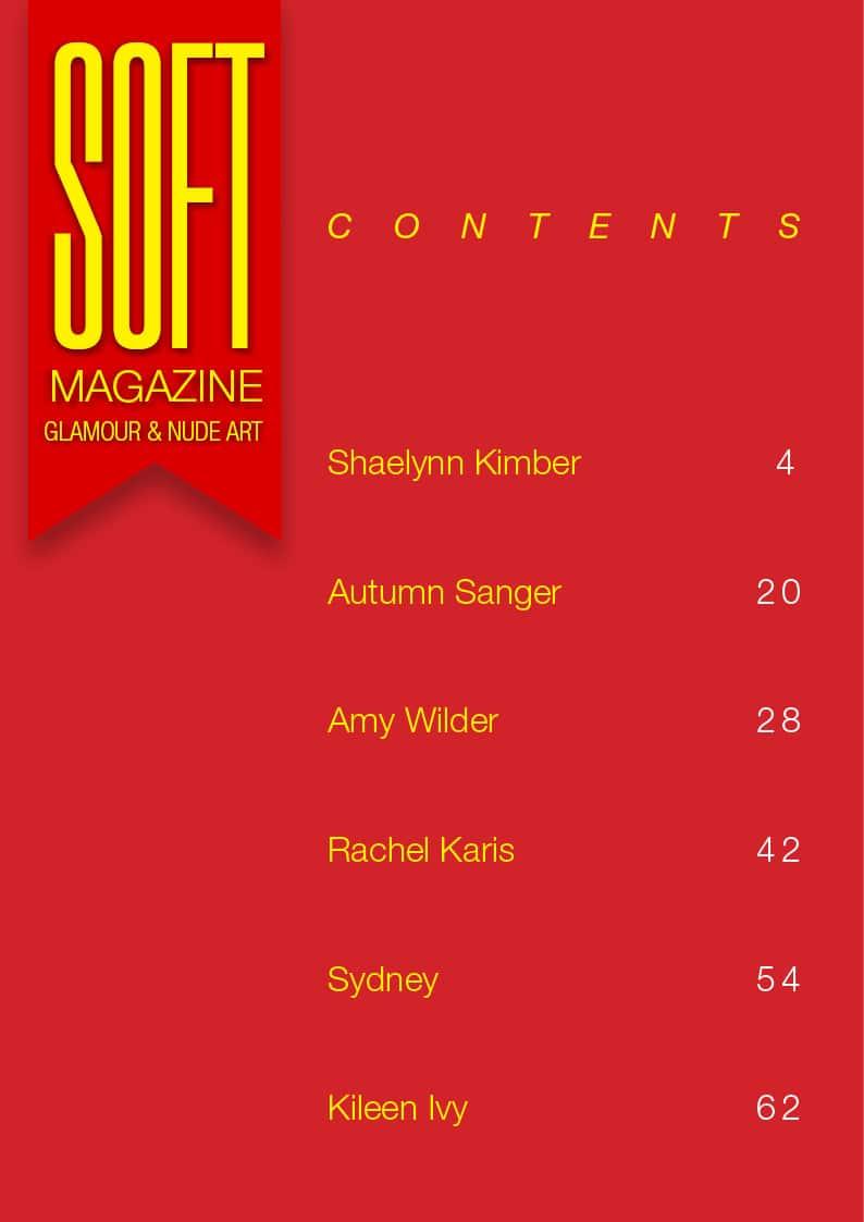Soft Magazine – March 2018 – Sydney