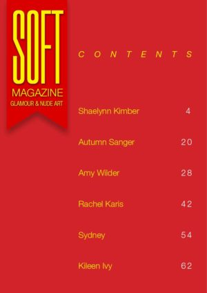 Soft Magazine – March 2018 – Amy Wilder