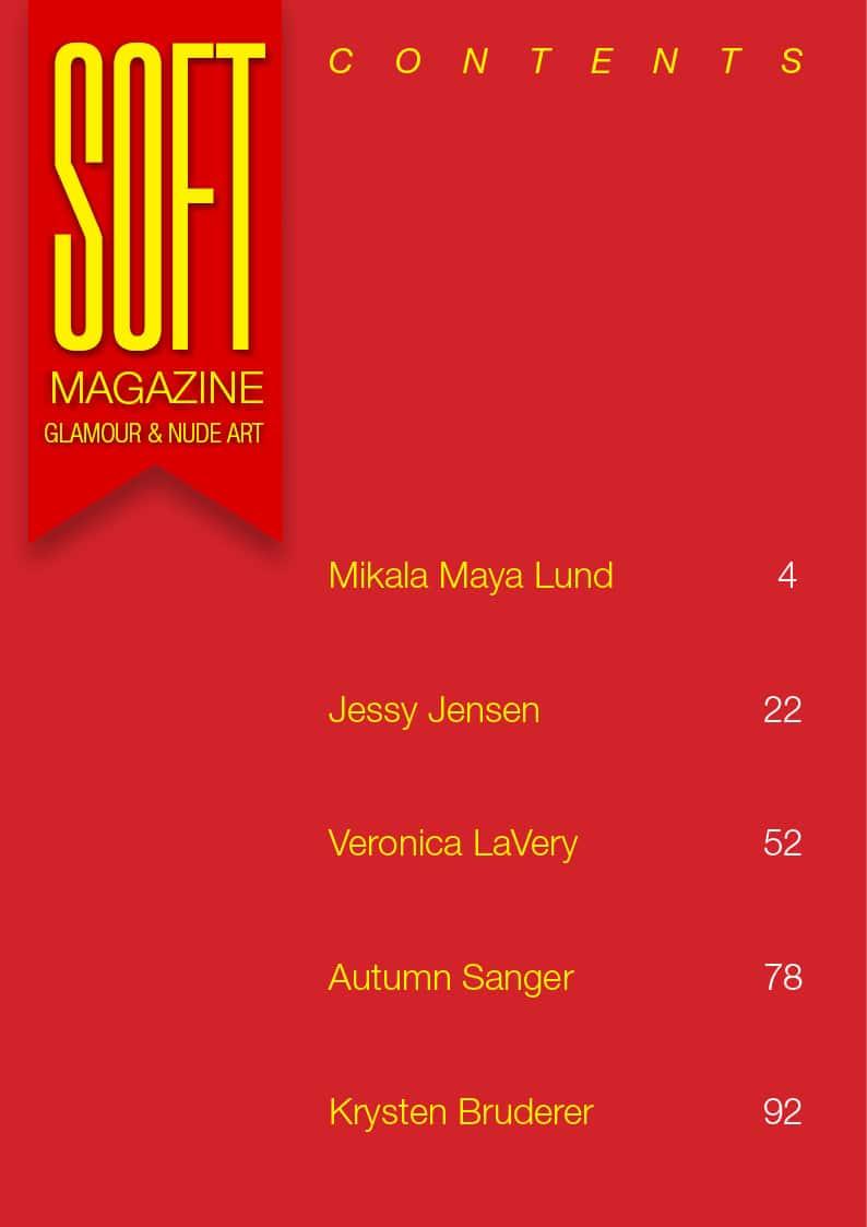 Soft Magazine – June 2018 – Autumn Sanger