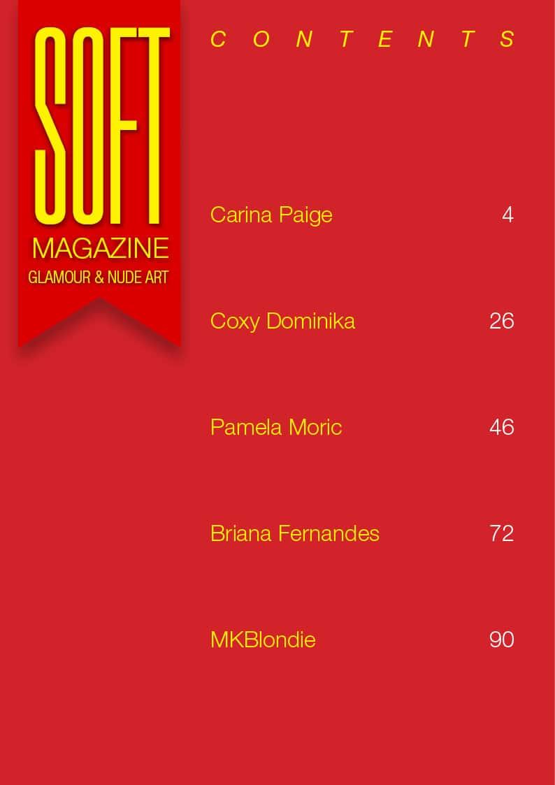 Soft Magazine – September 2018 – Coxy Dominika