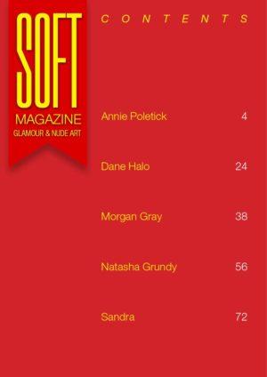 Soft Magazine - October 2018 - Morgan Gray 1
