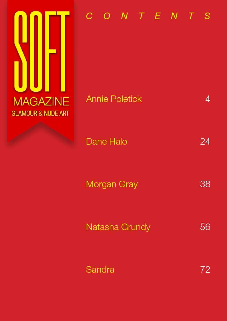 Soft Magazine – October 2018 – Dane Halo