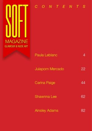 Soft Magazine - January 2019 - Paula Leblanc 1