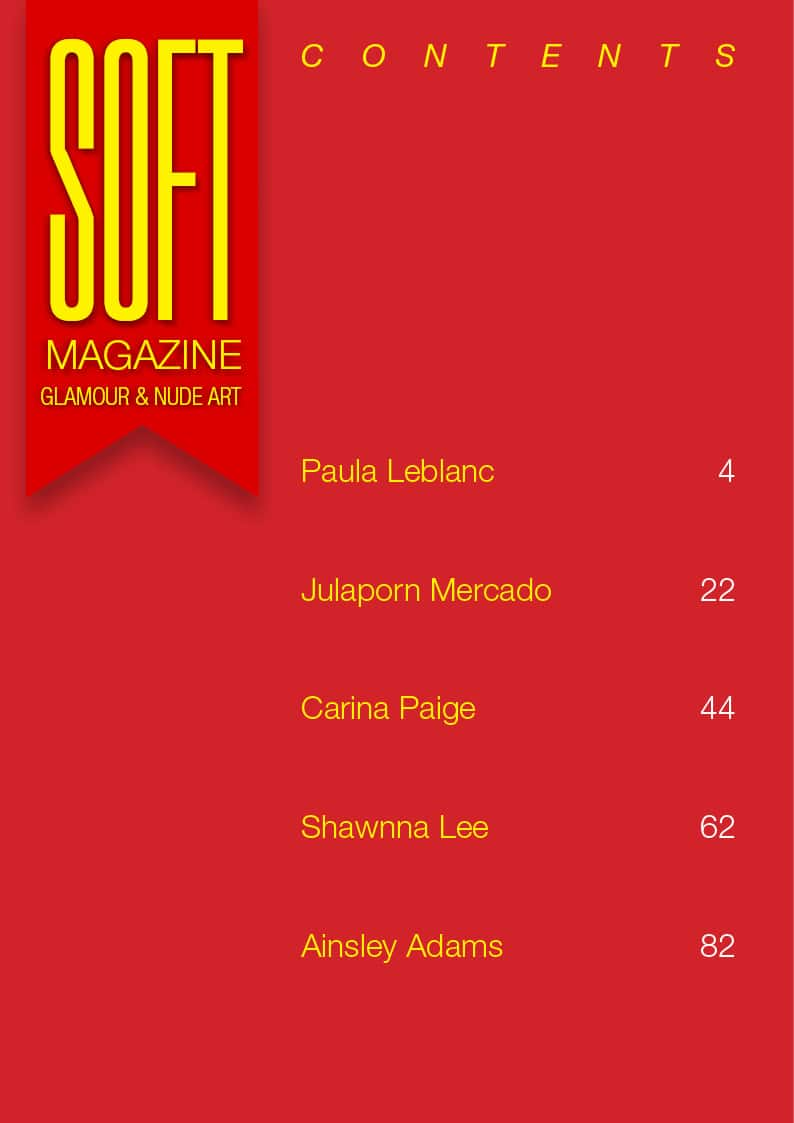Soft Magazine – January 2019 – Paula Leblanc