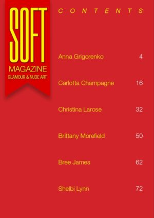 Soft Magazine - July 2019 - Carlotta Champagne 1