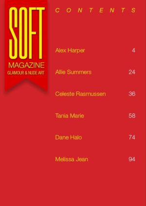 Soft Magazine – August 2019 – Alex Harper